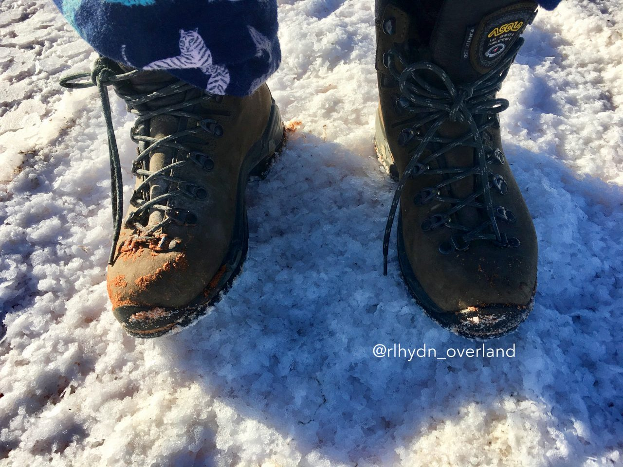 Lake Hart on my Boots